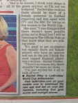Rachel Riley Daily Star