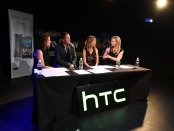 Lynsey Hooper, Ray Parlour, Kait Borsay, and Hayley McQueen