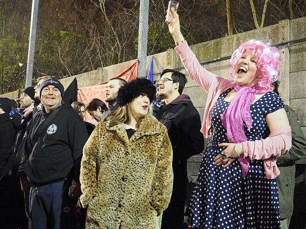 The crowd at Dulwich Hamlet is renowned for its open-minded vibe. Photo credit Mike Urban.