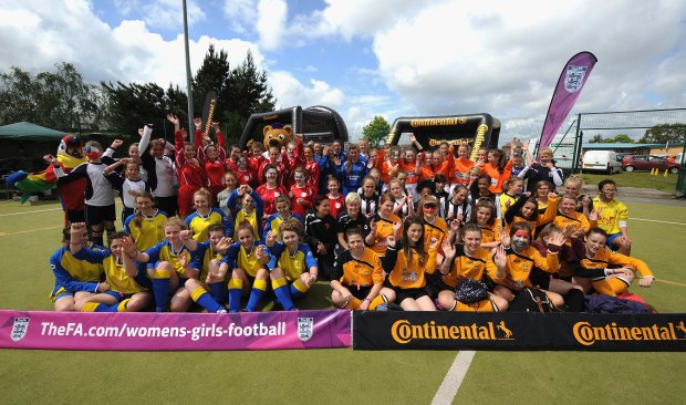 Women's and girls' football in 2014 recorded record figures