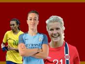 The Offside Rule Top 100 Women's Footballers 2016, #10-1