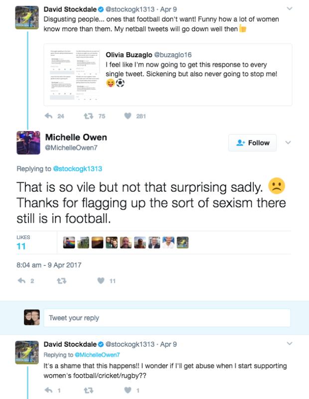 Owens-sexism tweet
