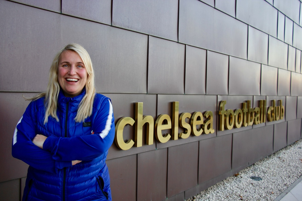 Emma Hayes is ready for the challenge of motherhood and Champions League progression