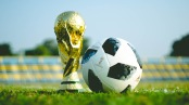 World Cup Trophy and 2018 Official Match Ball
