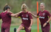 West Ham Ladies training