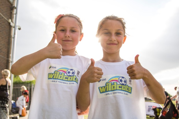 Images from the SSE Wildcats program in Bexleyheath, UK