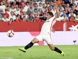 Sevilla player Wissam Ben Yedder