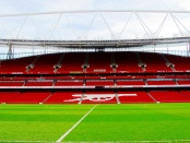 Stands at the Emirates Stadium, home of Arsenal FC