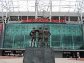 Entrance to Old Trafford, home to Manchester United FC