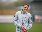 Lionesses Manager Phil Neville