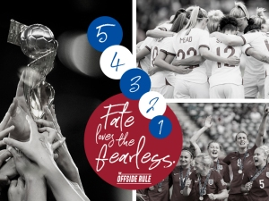 England women - Lionesses - fate loves the fearless