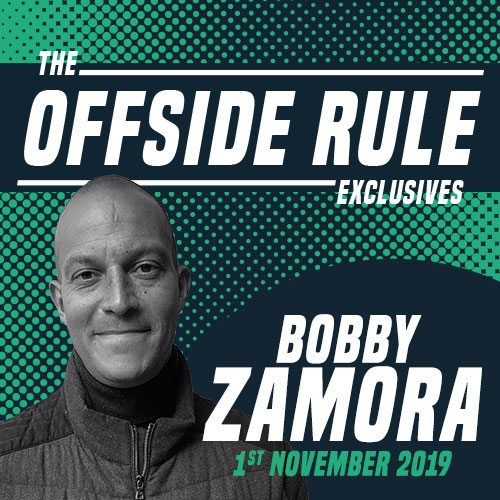 Bobby Zamora for The Offside Rule Exclusives