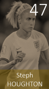 Top 100 2019 Steph Houghton