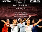 Top 100 Female Footballers 2019