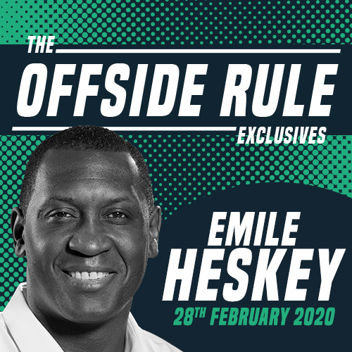 Emile Heskey for The Offside Rule Exclusives